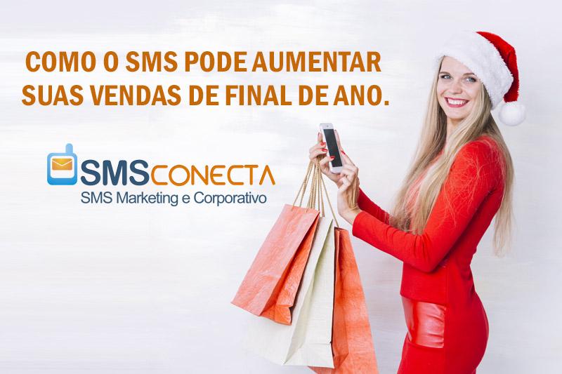 Como o SMS pode aumentar suas vendas de final de ano.